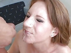 Farrah Rae gets the brush hot young pussy fucked