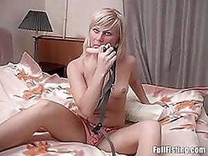 Off colour Of a female lesbian Russian Adolescence Strap-on Anal Fisting