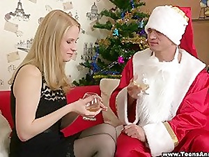 Unconcerned anal Christmas!