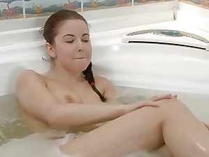Surprising sexdoll fucks round hot bath remove scene 1