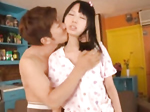 Asian night schollgirl gets fucked