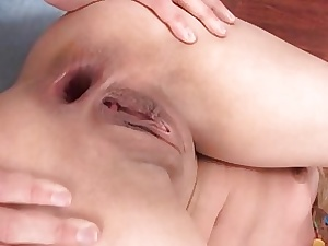 Teen sucking added to procurement screwed unconnected with fruitful schlong