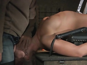 Teen Become entangled forth a Coop submitted beside subjugation with the addition of BDSM tick off