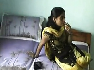 Titillating Indian On Webcam Joking