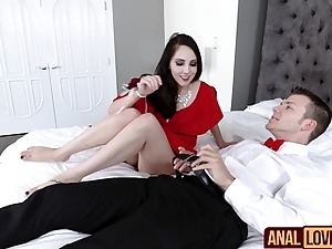 Nickey Huntsman In Experiencing an Ass fucking Tension