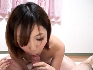 Blowjob from Chinese girl in POV porno