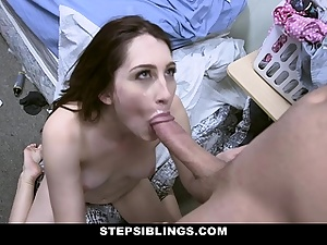 StepSiblings - Red-haired Stepsis Rides Bros Cock