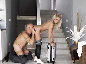 Aged youthfull bdsm Eventually at home, eventually alone!