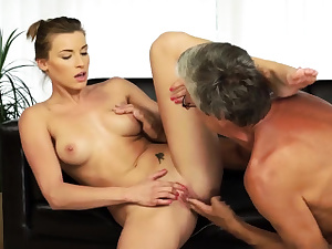 Mature dame solo and gulp sperm Fucky-fucky with her