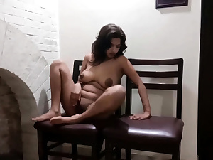 Indian Teenie Masturbating Before Getting Pounded