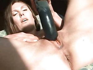 Teen babe ruins her pussy fuck hole with a huge dark-hued fuck stick