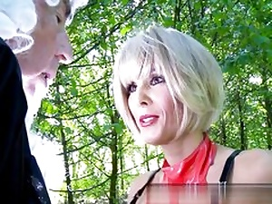 Mature light-haired lady is ready to get sexually manhandled rock-hard core