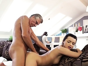 Old cougar pummels ally' associate's sons-in-law and young anal invasion hd