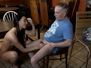 Older man penalize Can you trust your girlfriend leaving her alone