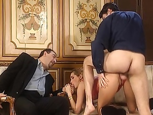 Antique Gangbang 2 Deep-throating and Humping