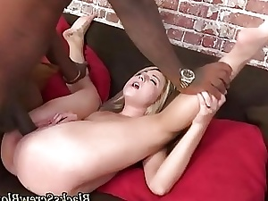 Teen inhales and fucks bbc