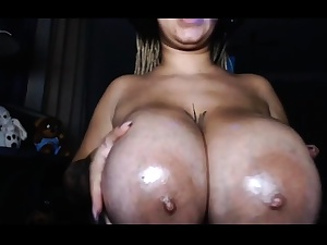 Webcam firm big nips brazilian
