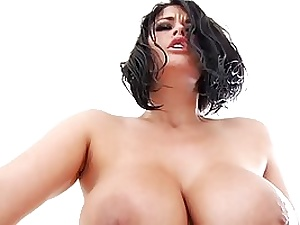 Carmella Bing is a XXL boobed dark-haired who enjoys to hold her legs hoisted while getting boinked